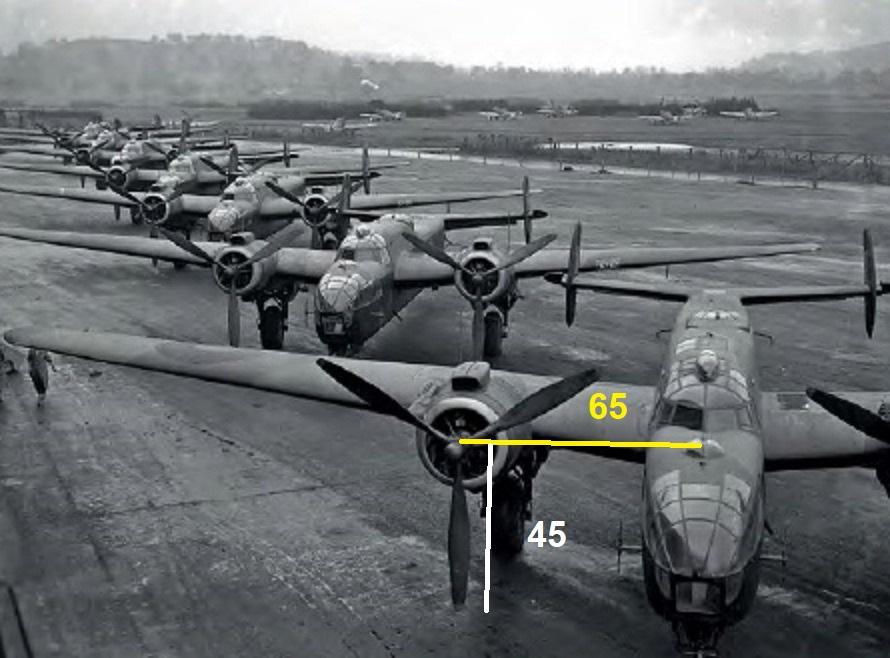 """Armstrong-Whitworth AW 41 """"ALBEMARLE"""" au 1/48 scratch en bois massif (Projet AA): Nacelles moteurs, puits de trains - Page 5 Albema10"""