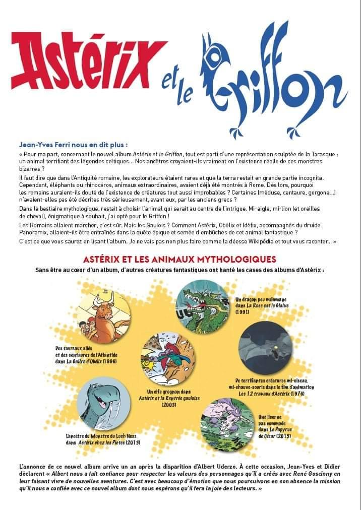 """Annonces pour le prochain album """"Astérix et le griffon"""" octobre 2021 Fb_img35"""