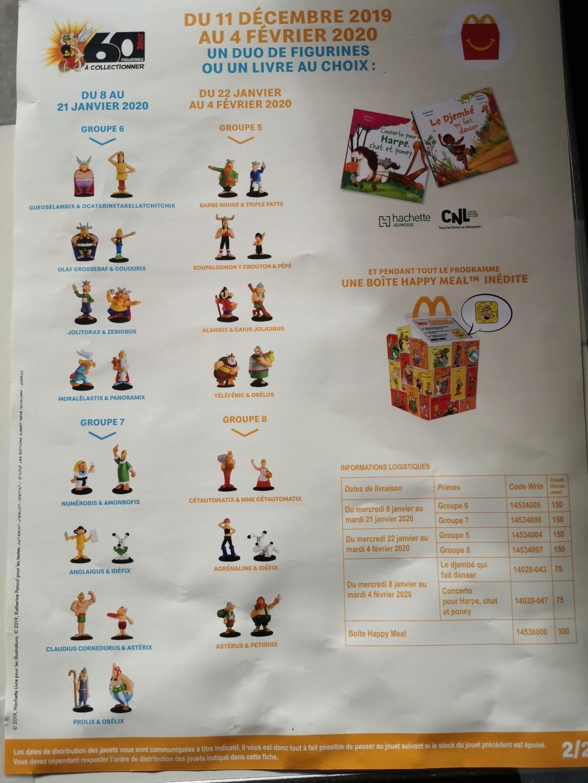 Astérix de retour chez Mcdo decembre 2019: 60 figurines à collectionner - Page 3 Img_2047