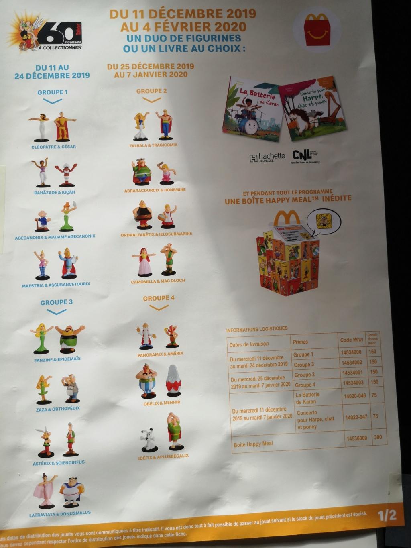 Astérix de retour chez Mcdo decembre 2019: 60 figurines à collectionner - Page 3 Img_2048