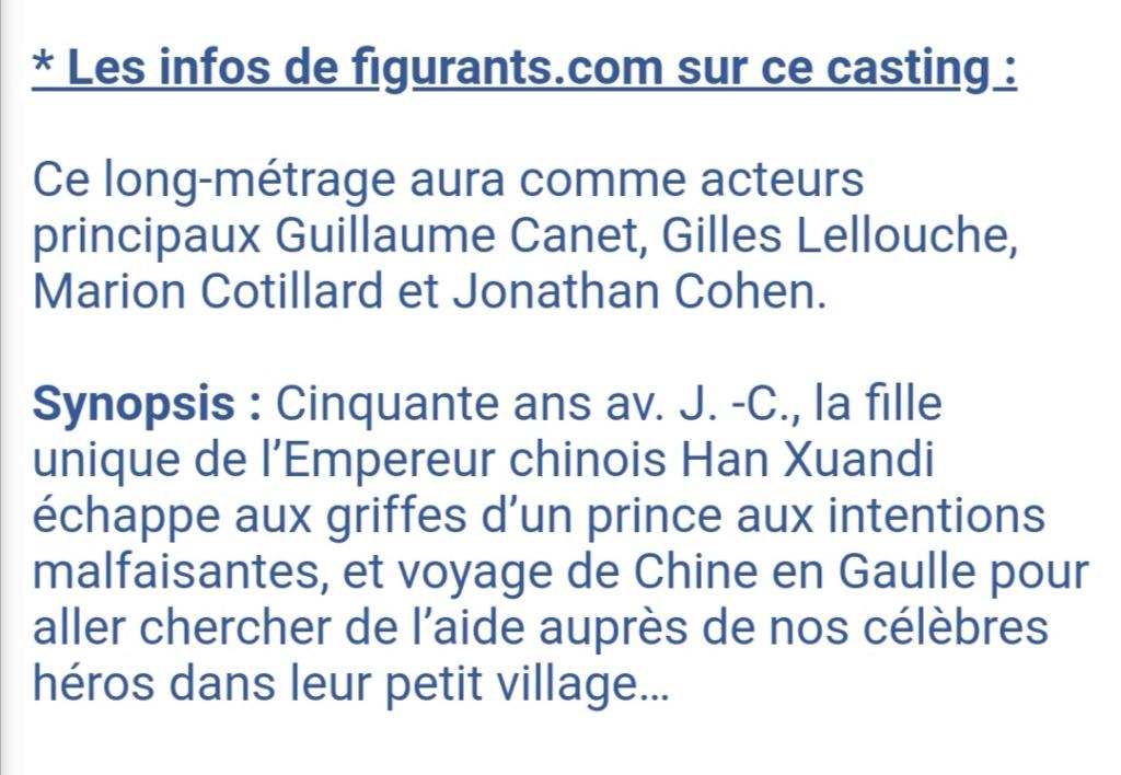 """""""Astérix et Obélix: L'empire du milieu"""" de Guillaume Canet - Page 4 Screen30"""