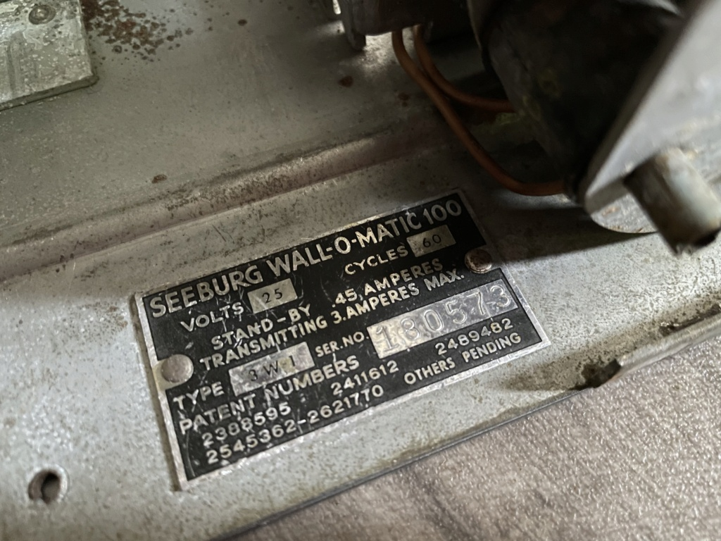 [WIP] Seeburg 3W1 - Wallbox de 1950 - télécommande analogique / numérique  14a51310