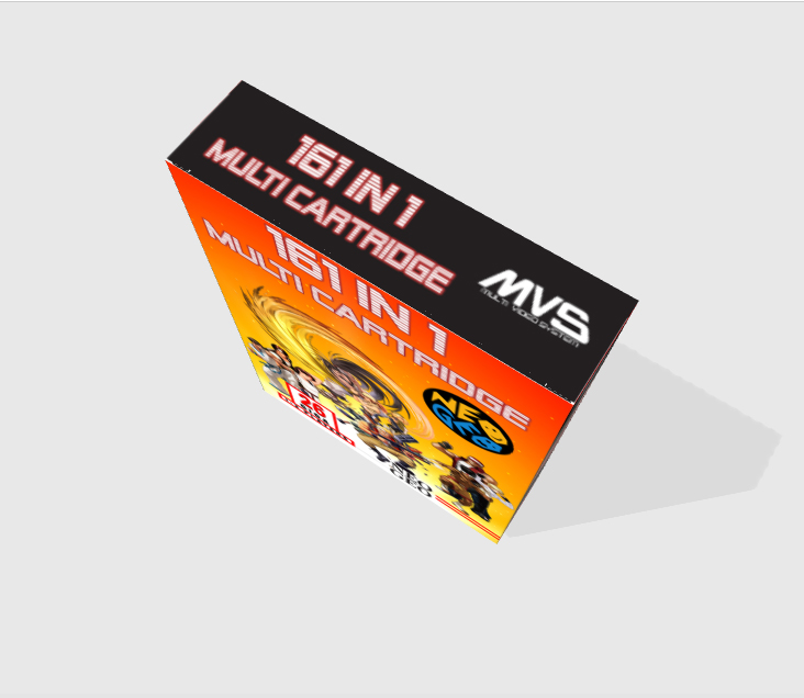 [WIP - 100%] Boite carton custom 161 in 1 MVS - Page 2 511