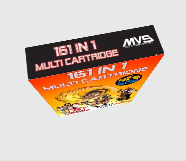 [WIP - 100%] Boite carton custom 161 in 1 MVS 710