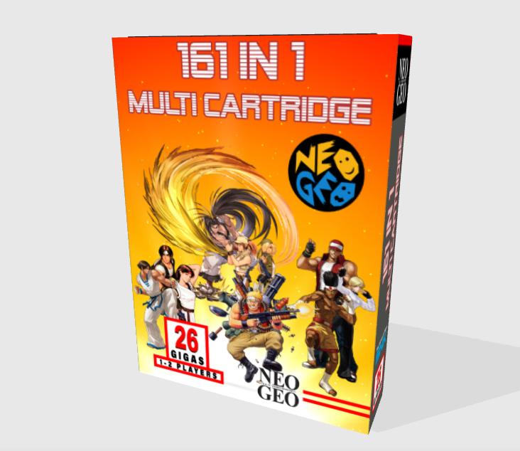 [WIP - 100%] Boite carton custom 161 in 1 MVS 810