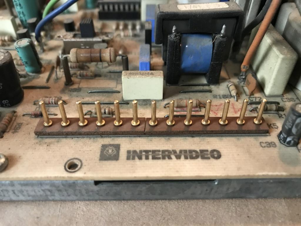 """[WIP] ressusciter écran borne d'arcade Intervideo 28"""" couplé à une platine VP Series de la même marque De6bd810"""