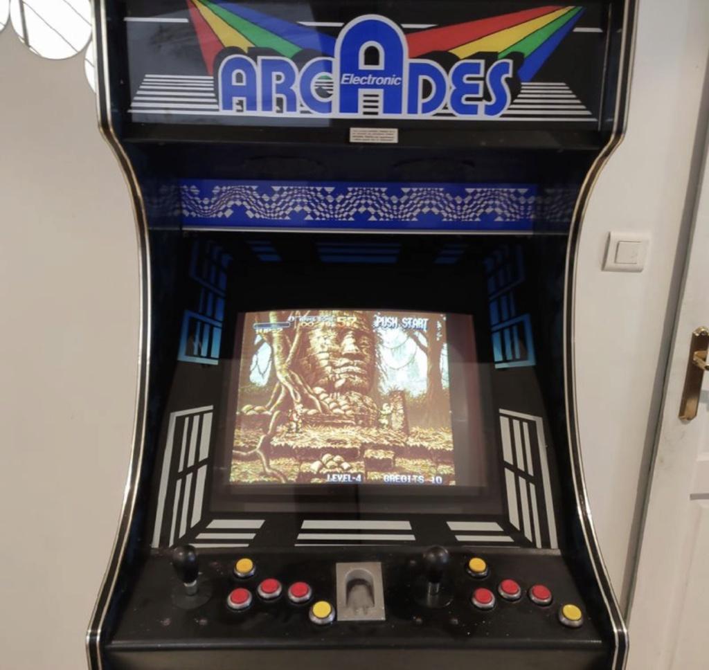 [WIP] Restauration borne Arcade Electronics E40dd510