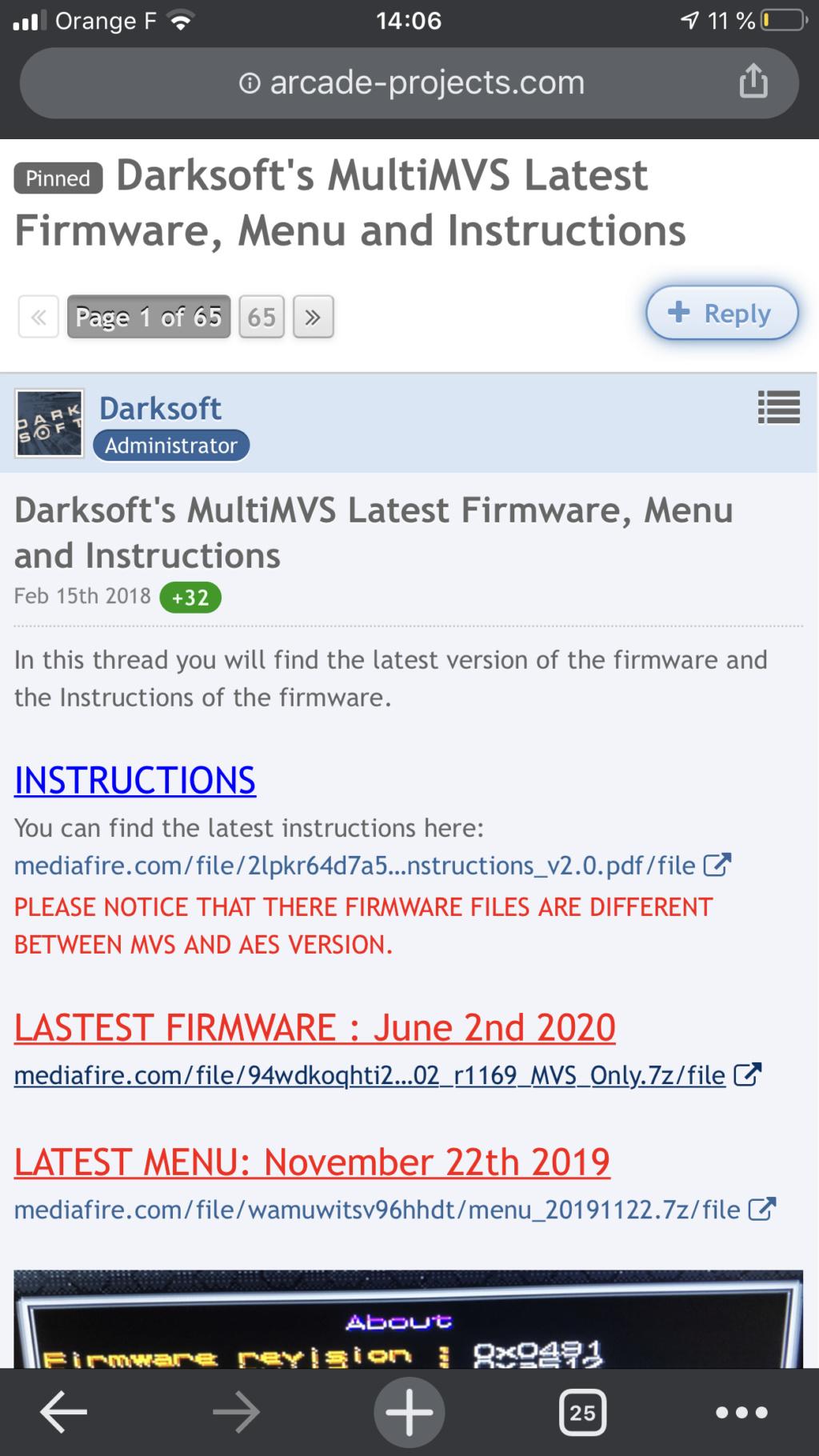 [Résolu] NeoSD AES bloqué :-( pas moyen de revenir sur le menu... F78cc010