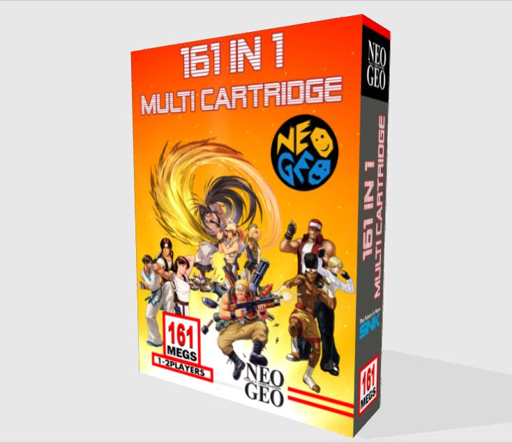 [WIP - 100%] Boite carton custom 161 in 1 MVS Front-12