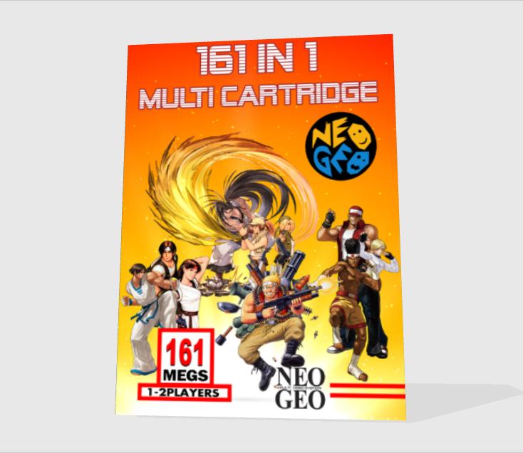 [WIP - 100%] Boite carton custom 161 in 1 MVS Front-13