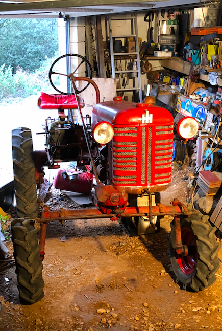 Farmall Cub 1956, remise en route Captur10