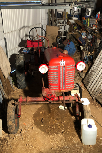 Farmall Cub 1956, remise en route Captur11
