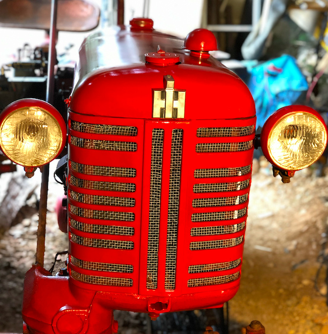 Farmall Cub 1956, remise en route Captur18