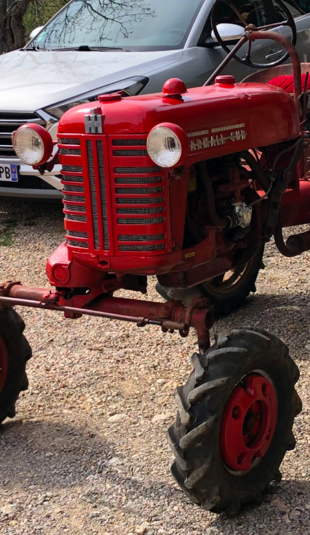 Farmall Cub 1956, remise en route Captur21
