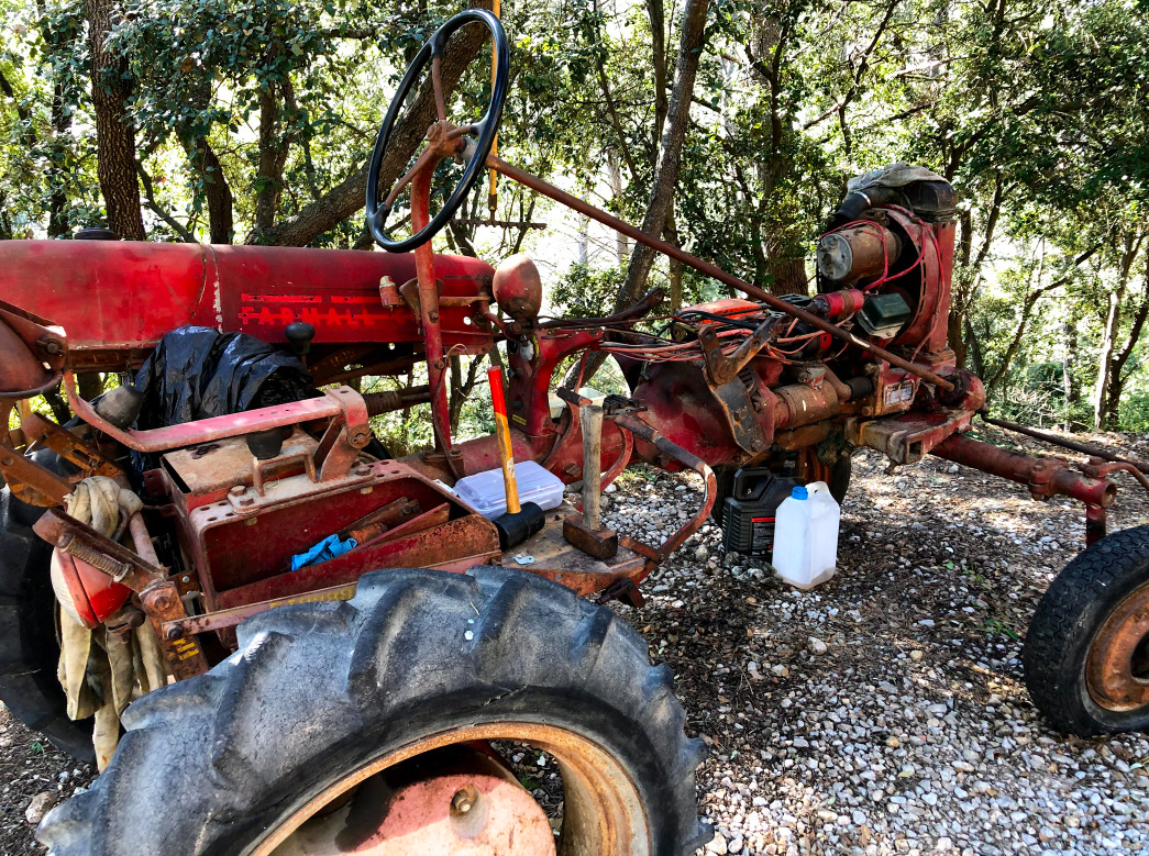 Farmall Cub 1956, remise en route Captur24