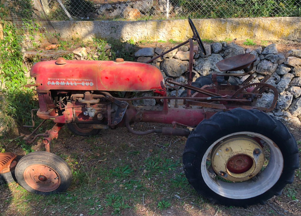 Farmall Cub 1956, remise en route Farmal10