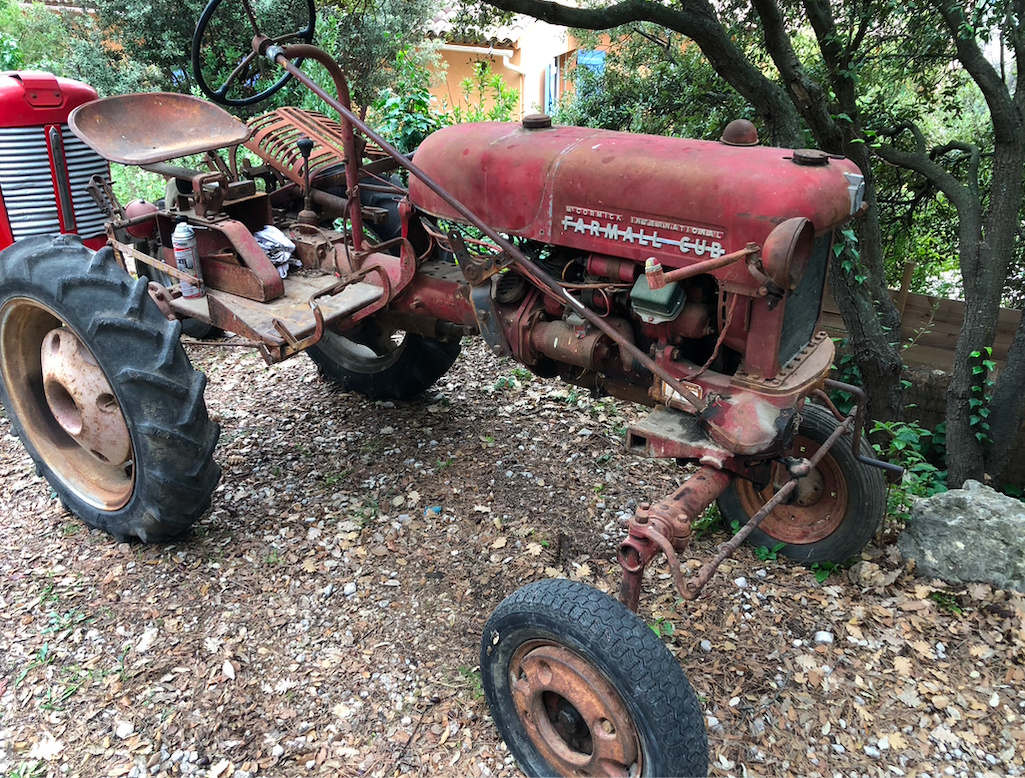 Farmall Cub 1956, remise en route Farmal11