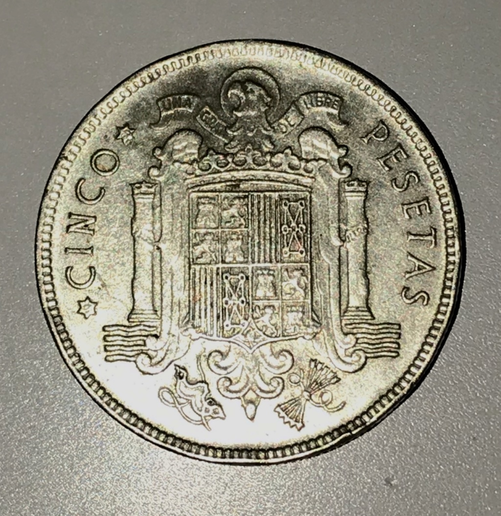 5 pesetas 1949 y 1 peseta 1947, qué valor tienen? Img_2211