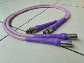 Revelation Audio Lab Paradise Cryo-Silver™ Reference Balanced Interconnect cable 1 meter (Used) 20201028