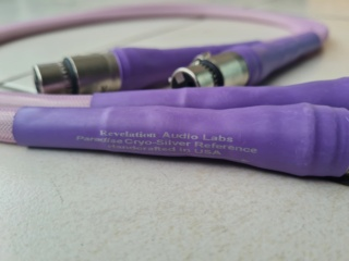 Revelation Audio Lab Paradise Cryo-Silver™ Reference Balanced Interconnect cable 1 meter (Used) 20201029