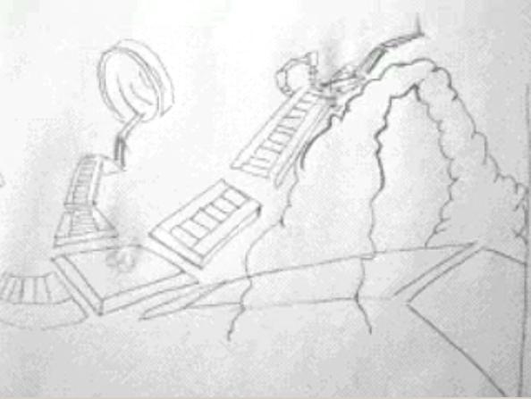 Some concept art for Humongous games 56u5i10