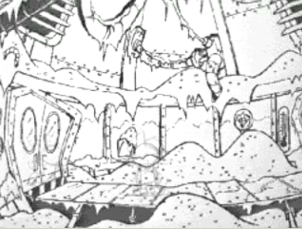 Some concept art for Humongous games U8710
