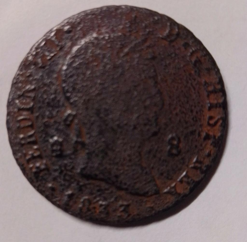 8 maravedís de 1833. Fernando VII. Segovia Img_2038