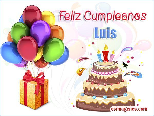 Feliz cumpleaños Luis  11110
