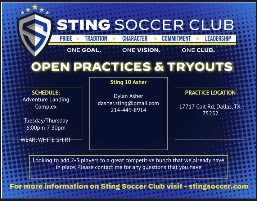 2010 Girls Sting Tryouts/Open Practices  460b9410