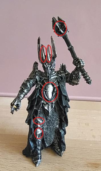 Figurines du mal Lenwe - il y en aura peu...???? Sauron10