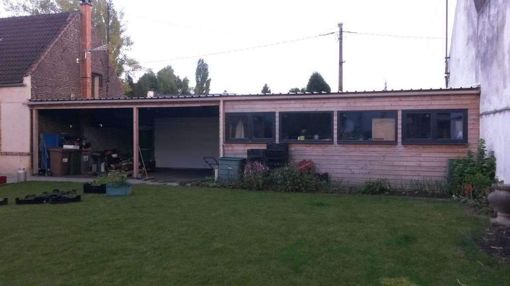 Construction d'un garage double en ossature bois - Page 6 20170510