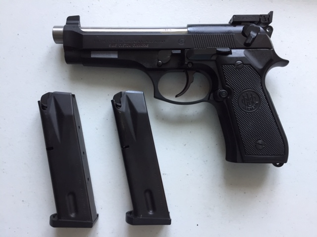 **SOLD** Sams Custom Gunworks Beretta 92 Sams_910
