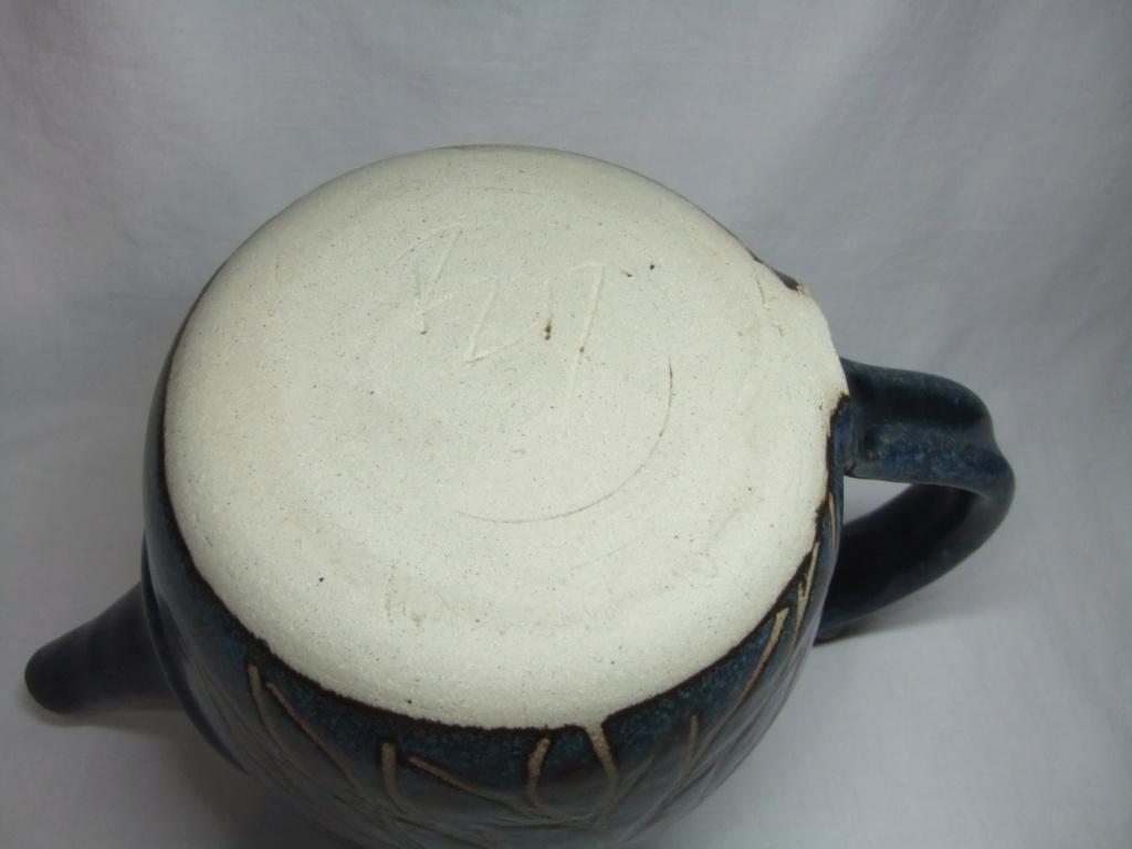 blue floral teapot  - John Egerton  Dscf3012