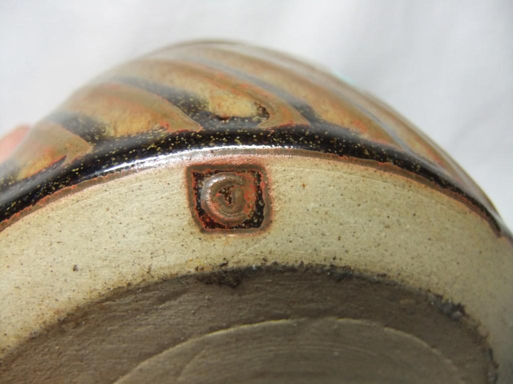 Lidded Pot CJ mark - Jennifer Clarke  Dscf3420