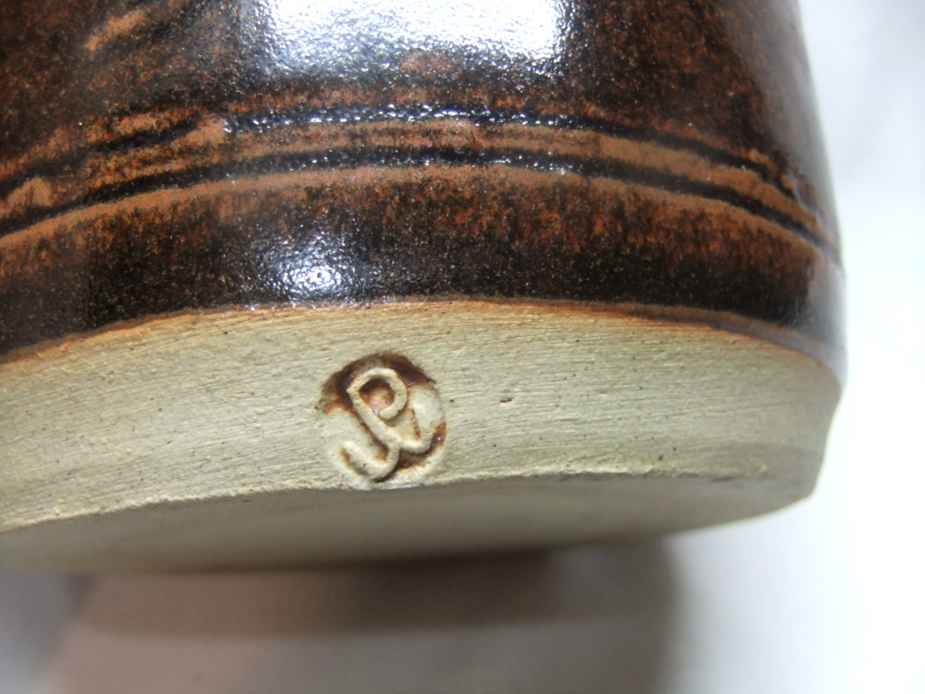 Kitchen Utensil Storage Jar Marked JP? Dscf3512