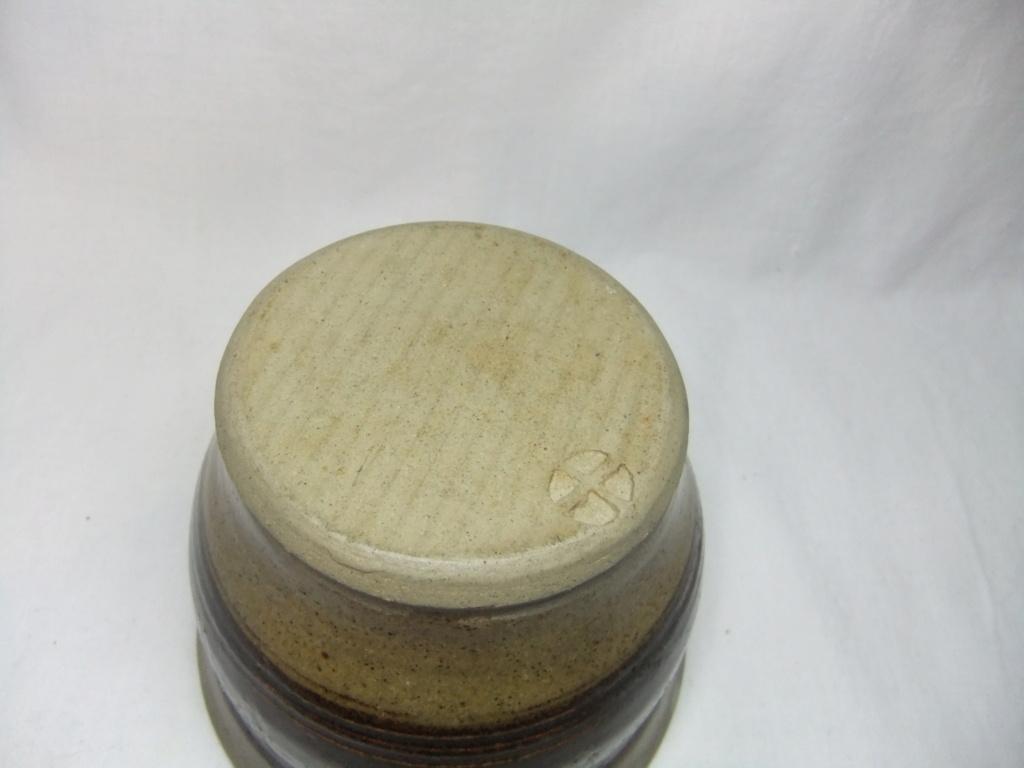 Preserve Pot With Cross Mark - Maker? Dscf3513