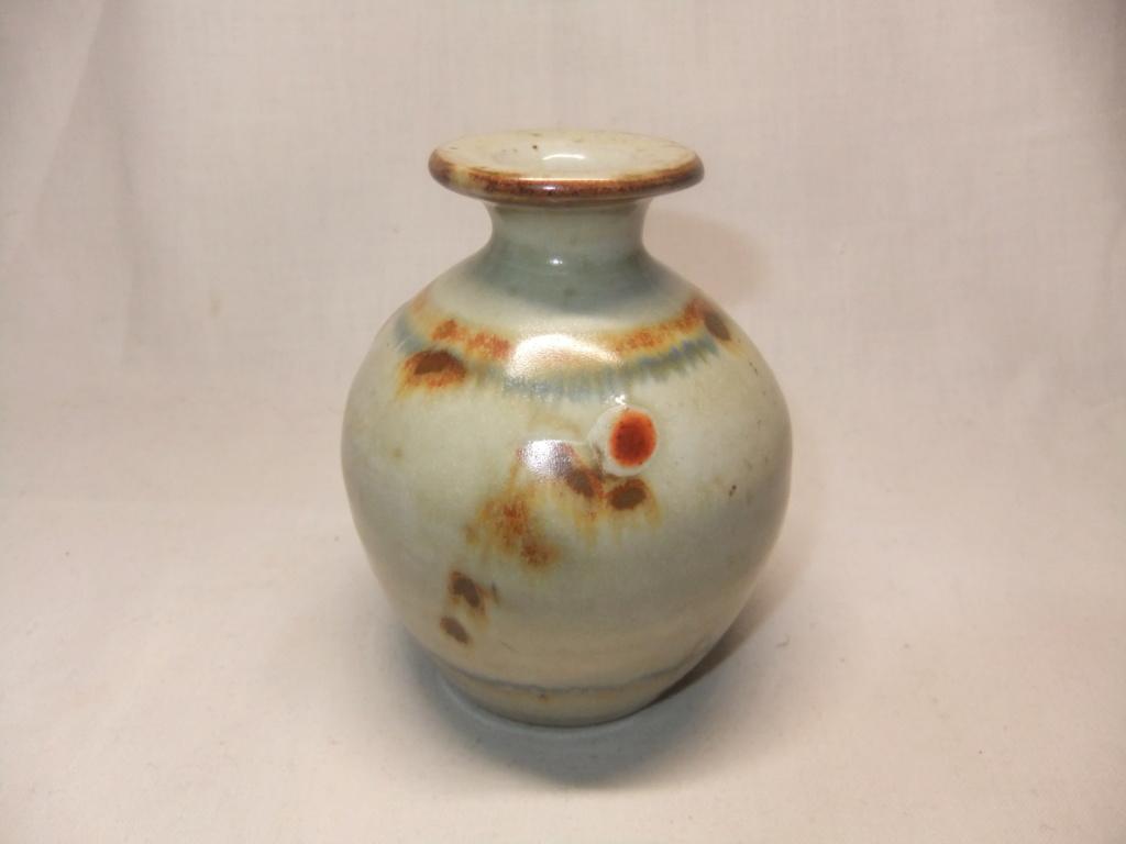 Small Vase With BA & Arrow/A Mark - Dartington Pottery  Dscf5627