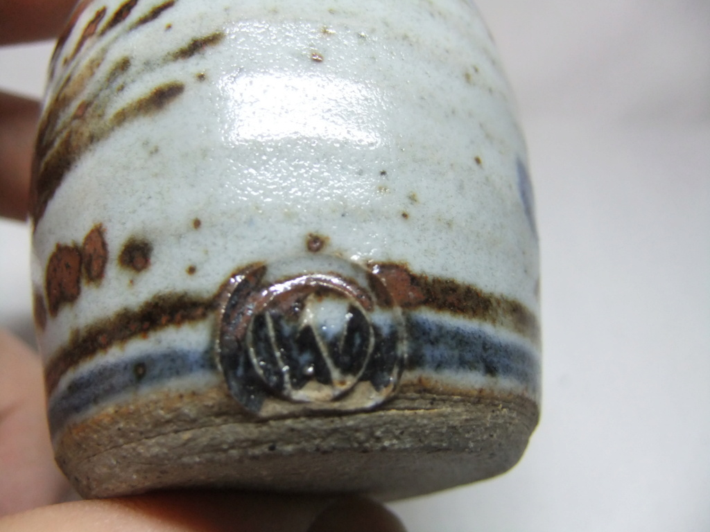 Anyone recognize the mark on this Vase/Pot? W? Dscf8021