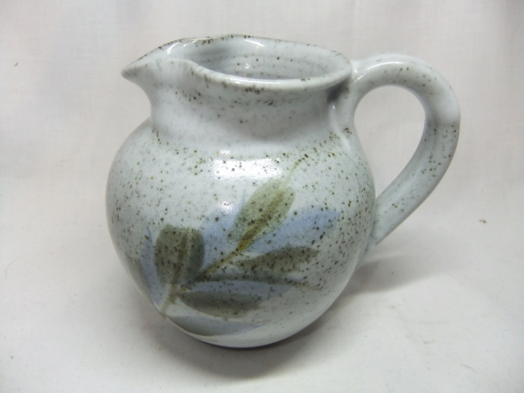 Pottery Jug - Is the Flower on handle just decoration or a makers mark? Dscf9821