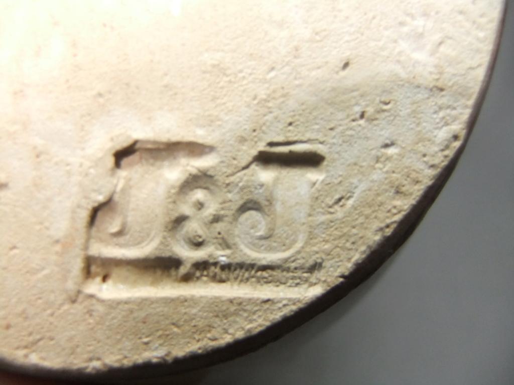 Pottery Jug Marked J & J Dscf9839