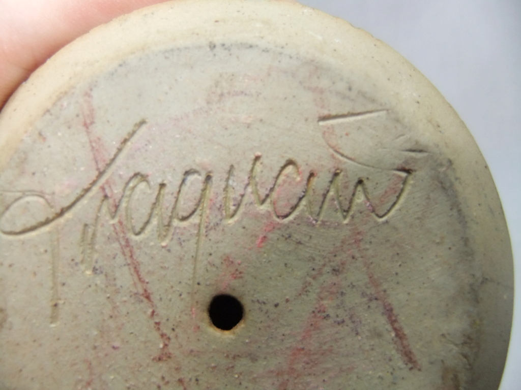 Studio Pottery Lion -  Traquair, Scotland  Dscf9844