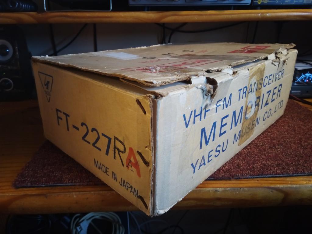 radio - Radio headaches and tales of an old Yaesu FT-227R Ft227r11