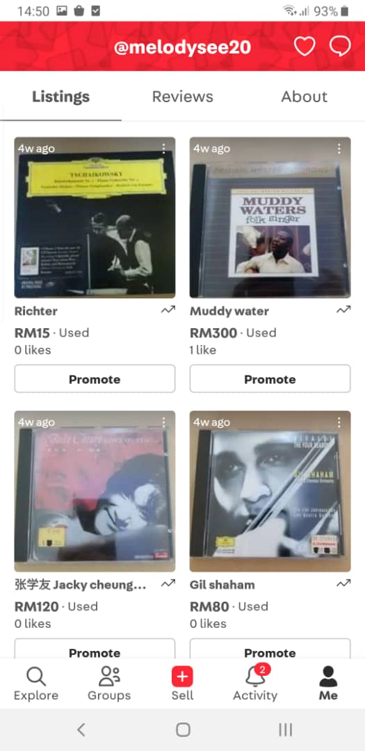 used cd (new update 15 May 2021) 9407b210