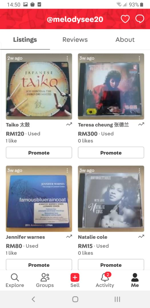 used cd (new update 15 May 2021) E1a79e10