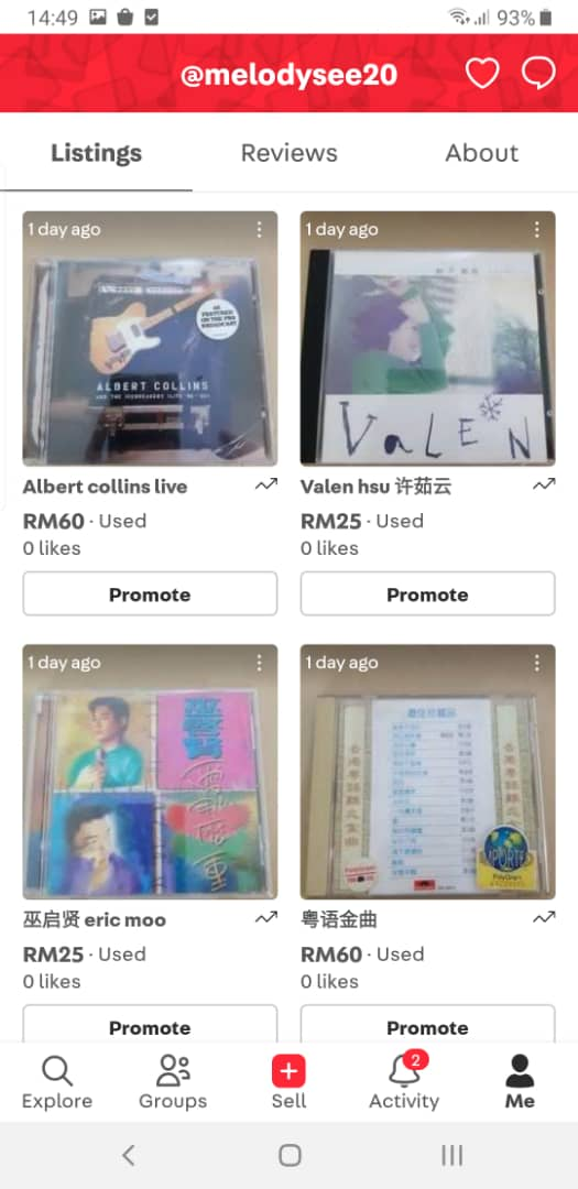 used cd (new update 15 May 2021) E2b80b10