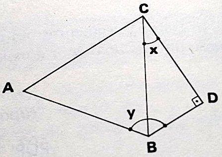 Calcule o valor de 2x+y sendo B^C^D = x e A^B^D = y Arruma10