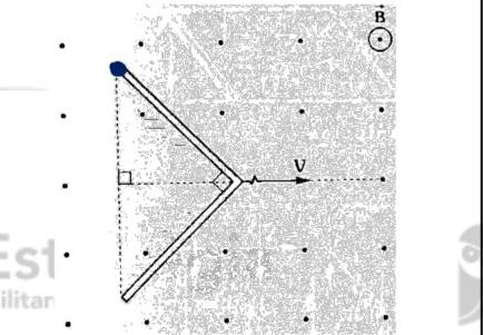 Barra condutora em um campo magnético Imagem57