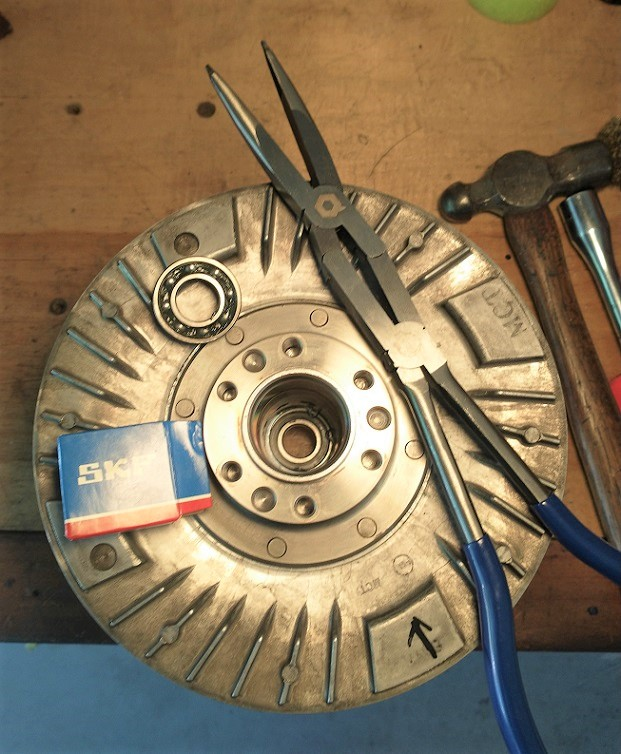 Driven Pulley Assembly Rebuild Sw8610