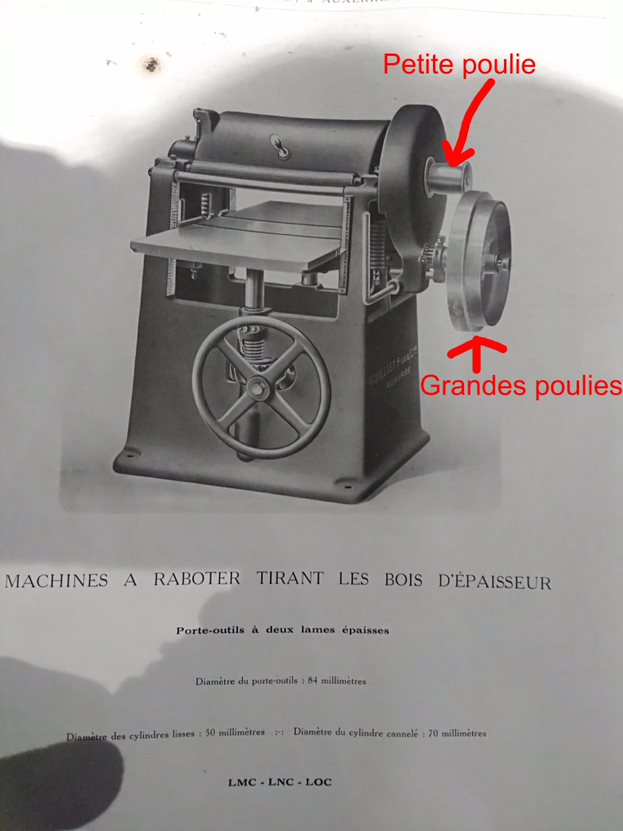 restauration anciennes machines bois Guillet & Fils - Page 8 Rabot10