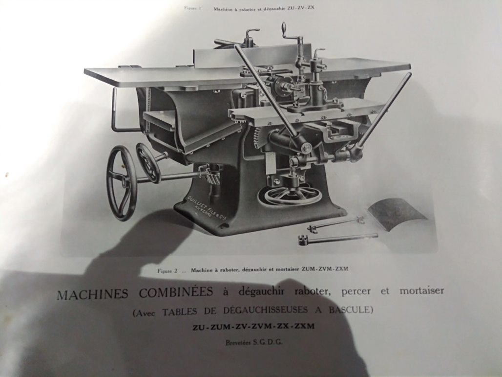 restauration anciennes machines bois Guillet & Fils - Page 8 Rabot_11